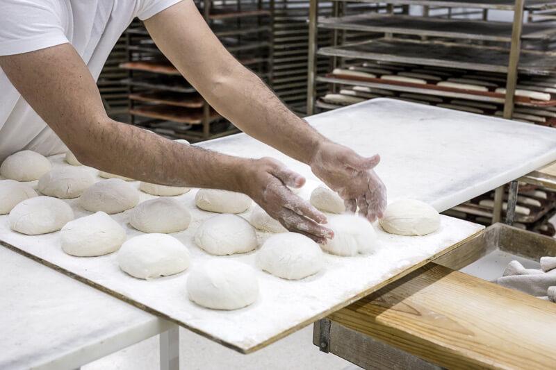 masa madre para picos de pan